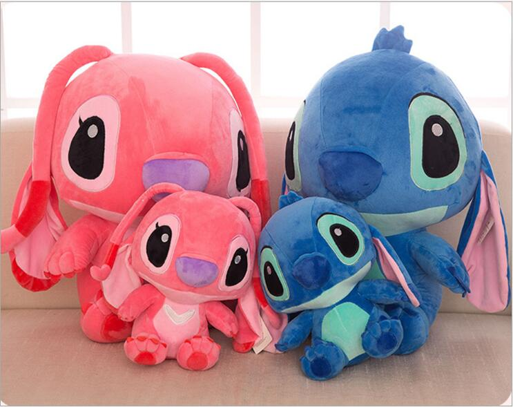 35cm/45cm Cute Giant Lilo Stich Plush toy Anime Stitch Plush Doll Stuffed Soft Animal Toys Children kid Birthday Gift