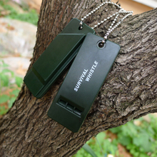 Ultimate Survival Rescue Tool Emergency Signal Sound Whistle For Outdoor Sports Camping Hiking Useful