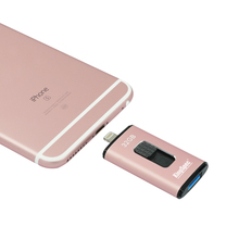 KingSpec Newest Item For IPhone Mini Drive 32GB 64GB Designed With Lightning and USB3.0 Interface.