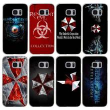 H216 Resident Evil Umbrella Transparent Hard PC Case Cover For Samsung Galaxy S 3 4 5 6 7 8 Mini Edge Plus Note 3 4 5 8