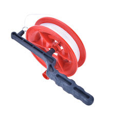New Grip Red Wheel Flying Kite Reel Kite Winder Ballbearing Handle Tools with 60m/110m String Line Kites Accessories(China)