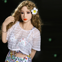 Buy Pinklover 155cm small breast A-cup real Silicone Sex Dolls Sexual Oral Anal pussy adult sex love dolls