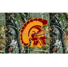 USC Trojans Flag Fans Supporters Camo College Large Outdoor Flag 3ft x 5ft Football Hockey Baseball USA Flag