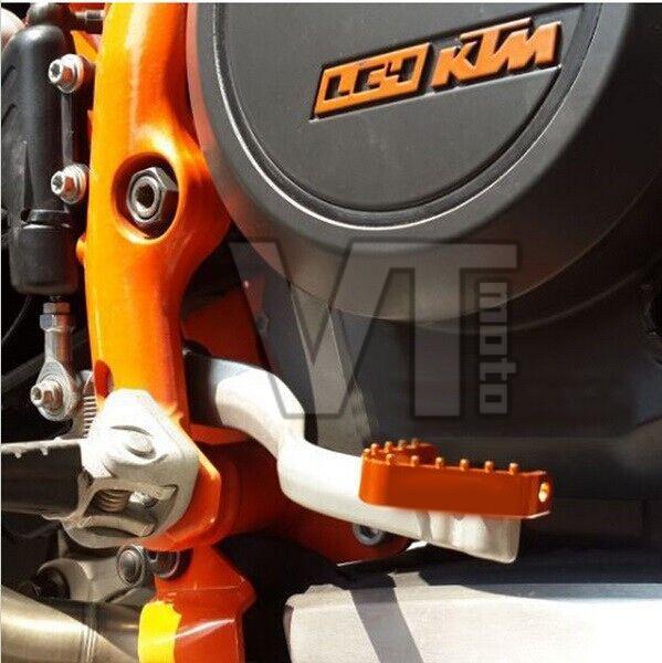 For KTM 690 SMC 2008-2009 KTM690 SUPERMOTOR 08 690 ENDURO DUKE 2008 2009 BILLET KTM REAR BRAKE PEDAL STEP TIPS<br><br>Aliexpress