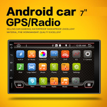 Universal 2 din Android 6.0 Car DVD player GPS+Wifi+Bluetooth+Radio+Quad 4 Core CPU+DDR3+Capacitive Touch Screen+3G+car pc+aduio(China)