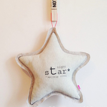 Ins nordic style luminous star pillow children's room decoration baby pacify pillow Home craft ornament size 40cm(China)