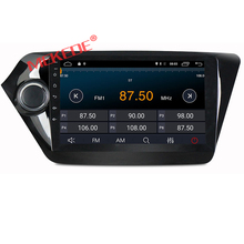 Quad Core 9 inch Android 7.1  Car GPS Navigation for Kia RIO K2 2010 2011 2012 2013 2014 2015 Radio Cassette Player WIFI 4G DVR