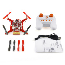 2017New RC model helicopter small particle blocks four-axis aircraft detachable assembled creative toys