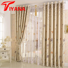 Rustic Clover Dandelion Design Curtains For living Room / Bedroom Blackout Curtains Window Treatment /drapes Home Decor P206Z30