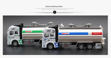 New Arrival 1:32 Alloy Pull back watering cart truck tanker sprinkler model simulation Cars oil tank truck toy car