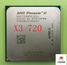 For AMD Phenom II X3 720 CPU Processor Triple-Core 2.8Ghz 6M 95W 2000GHz Socket AM3 AM2+ 938 pin working 100% Free Shipping(China)