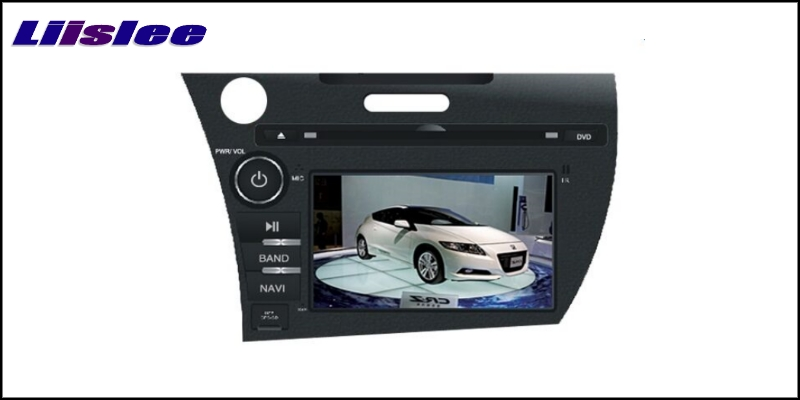 For Honda CR-Z ZF1 Left Hand Drive 2010~2016 LiisLee Car Multimedia TV DVD GPS Audio Hi-Fi Radio Original Style Navigation 2