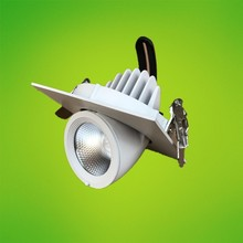 Rotate 360 degrees 10W 12W 15W Dimmable CREE LED downlight COB dimming LED Spot light LED ceiling lamp free shipping