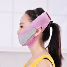 Adomaner Slim Face Mask Thin Face-lift Bandage Care Correction Belt Slimming Band Facial Shaper Massage Tool Reduce Double Chin(China)