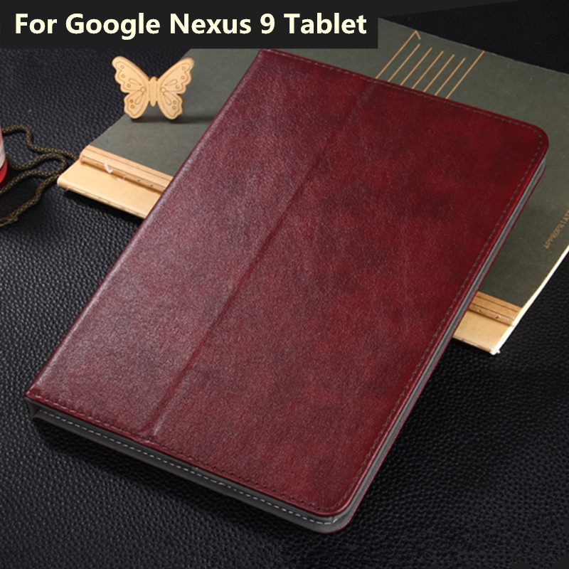 For Google Nexus 9 Luxury PU Leather Case Fashion Smart Tablet Stand Cover 8.9 for Google Nexus 9 with Card Slots Hand Holder<br><br>Aliexpress