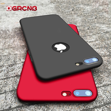 Fashion Matte Hard Plastic Cases For iPhone 6 6s 7 8 Plus PC cover case For iPhone 8 6 6s 7 Plus Ultra thin Phone Case(China)