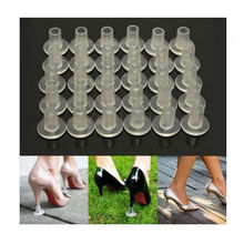 1 Pairs High Heel Protectors Latin Stiletto Dancing Covers Heel Stoppers Antislip Silicone High Heeler For Wedding Favor Soft(China)