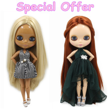 Special Offer Factory Fashion Nude Blyth Doll, Joint& Normal Body on sale DIY toys Free shipping(China)