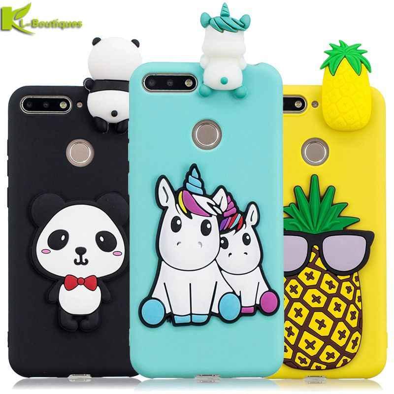 cover huawei y6 2018 silicone panda
