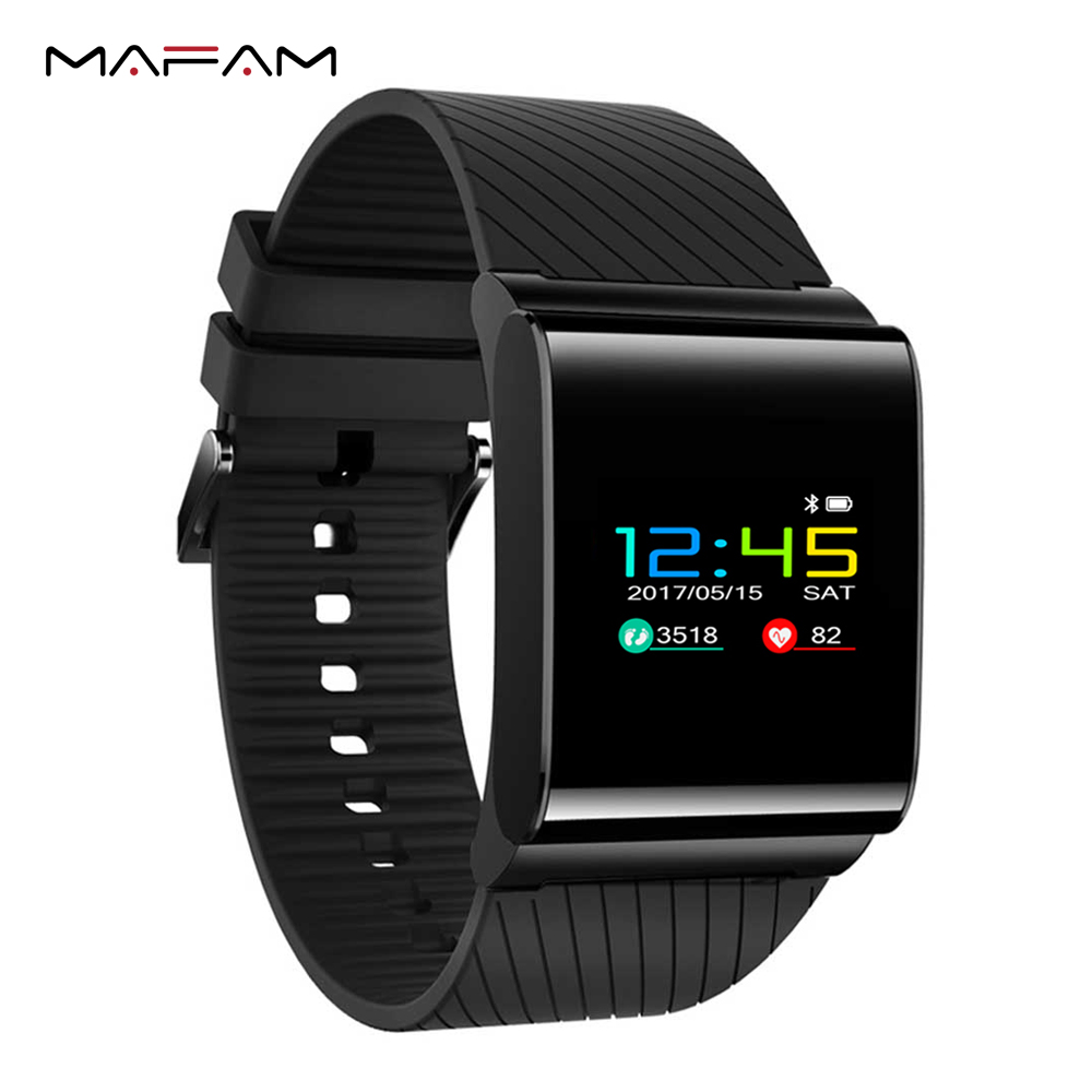 MAFAM X9 Pro Smart Wristband IP67 Waterproof Swimming Smart Bracelet Heart Rate Monitor Pedometer Fitness Blood Pressure Band<br>