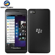 "Z10 Original unlocked Blackberry Z10 Cell Phone Dual-core GPS Wi-Fi 8.0MP 4.2""TouchScreen 2G RAM +16G ROM z10 Mobile Phone"