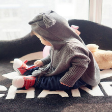 New Baby Fashion Winter Autumn Infant Knitted Coat Boys Girls Child Children Outerwear Clothes Cloak Kids Coat(China)