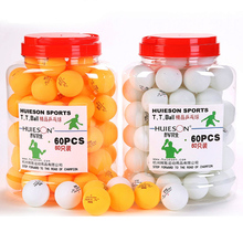 60pcs/barrel 3 Star Table Tennis Balls 40mm 2.9g Ping Pong Ball Yellow / White for Table Tennis Game or Training(China)