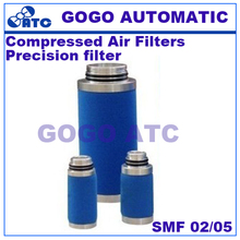 High quality Filter element SMF 02/05 Precision filter compressed air filters Gas water oil separator PE SB FF MF SMF AK