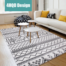 Carpet Nordic Living Room European Simple Modern Bedroom Full House Coffee Table Sofa Room Bedside Blanket(China)