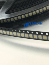 500PCS/Lot 3528 2835 3V SMD LED Beads 1W LG 100LM Cold White For TV LCD Backlight