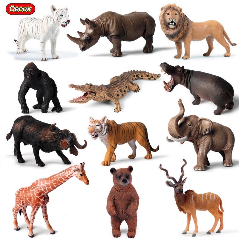 Crocodile Wildlife Educational Toys Figure Animal Model Christmas Gift for Boy