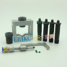 ERIKC Auto common rail injector repair tool,injection Universal Grippers and Diesel Oil return Device for  injectors