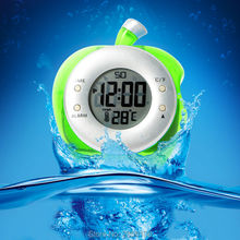 Family Funny toys H2O Water Powered Can Clock - Add Water To Power - Eco Gadget -water-driven with Temperature Thermometer Alarm