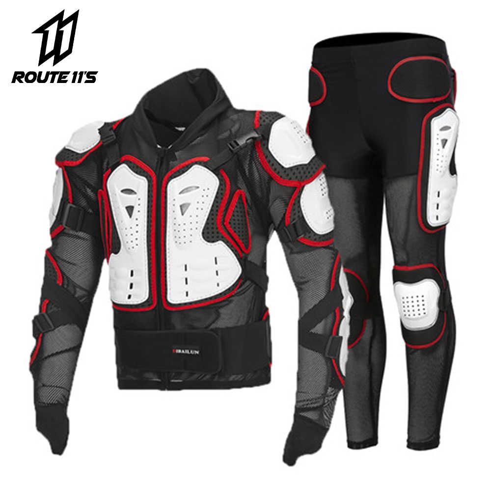 Men/'s Motorcycle Enduro Racing Armor Suits Guard Jacket Vest S M L XL XXL XXXL