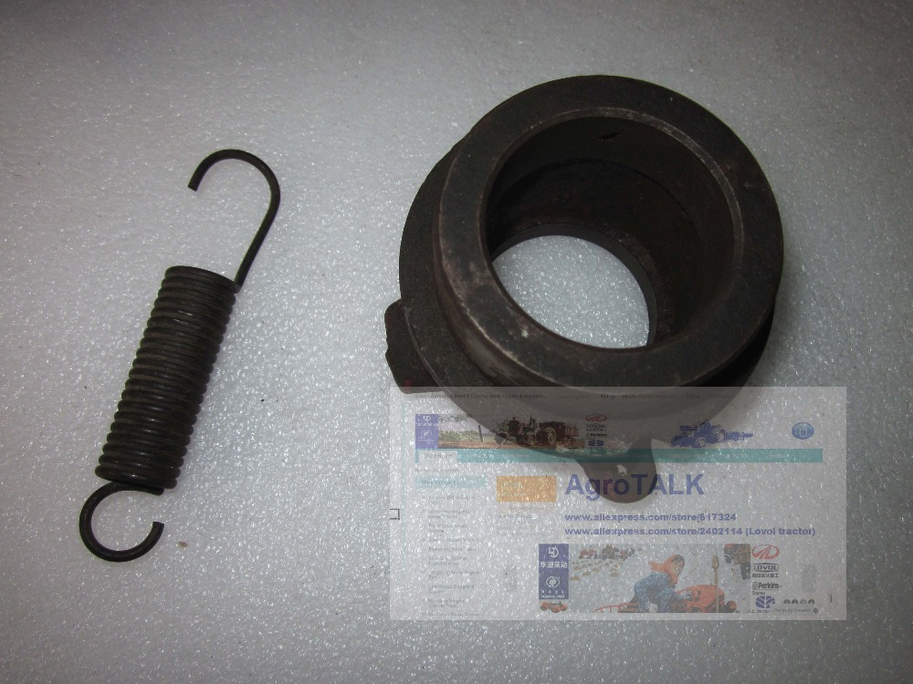 Lenar 254 Fengshou 254 274 tractor parts, the release bearing seat with clutch pedal spring<br>