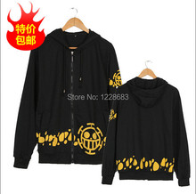 New Cosplay One Piece Cosplay Trafalgar Law Cosplay Law T-shirt Cosplay Costume With Hat Size: M, L, XL, XXL