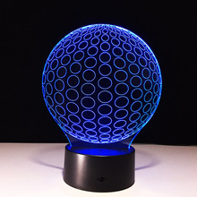 N470 3D Sphere Global Action figure Model Style LED lamp 7 Color Changing Atmosphere Bedroom Lamp Home Table Decor lamp