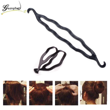 Fashion Magic Black EntwIne Style Hair Clip Styling Hair Twist Braid Tool Amaranth Twist DIY Simple And Elegant Hair Style