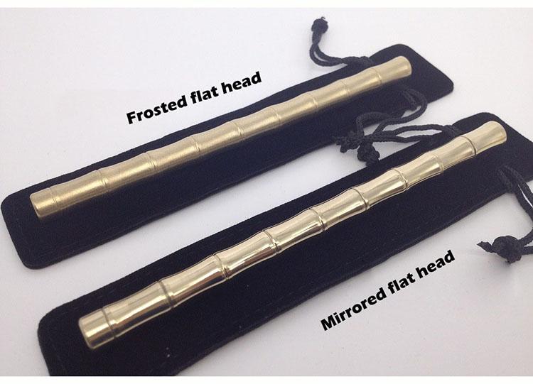CCGK Bamboo Shape Brass Tactical Pen Useful EDC Tool Women Outdoor Portable Self Defense Tools Detachable Functional Write Pen (2)