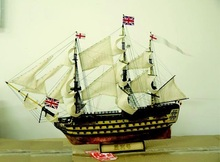 NIDALE model Scale 1/200 British classic ship model kit 1778 HMS Victory warship wooden model Offer English instruction(China)