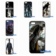 Enjoy Watch Dogs Game Cheap Phone Cases Cover For Samsung Galaxy Note 2 3 4 5 7 S S2 S3 S4 S5 MINI S6 S7 edge(China)