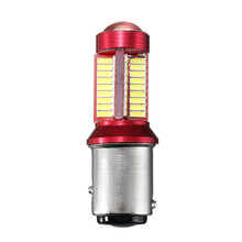 2pc 1156 BA15S 1157 BAY15D 5W 1200LM Canbus 78 LED Car Light Bulb For Brake Lights Auto Car Reverse Lamp Daytime Running Light
