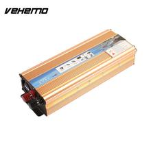 VEHEMO 2000W DC12V To AC 220V Aluminium Alloy Automobile Vehicle Car Inverter Converter Mobile Phone Power Inverter Computer(China)