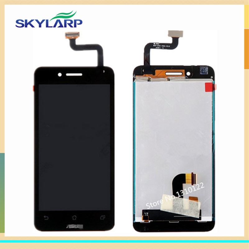 LCD Module With Digitizer Touch Screen Replacement for Asus PadFone Mini - Black - With Logo<br><br>Aliexpress
