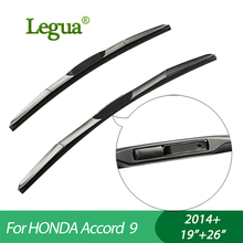 "Legua car winscreen Wiper blades for HONDA Accord 9 (2014+), 19""+26"",3 Section Rubber, windshield, wiper rubber"