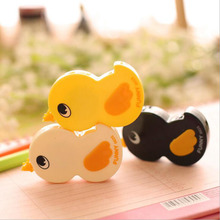 Kawaii little duck Correction Tape Cute deco rush tape stationery Promotional products tape roller Office School Supplies GT338(China)