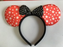 New Arrival Children and adults COSPLAY Headwear Minnie mouse ears Headband Hair accessories for Party  Free shipping