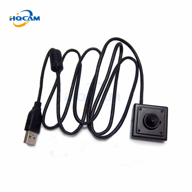 HQCAM MINI ATM USB Camera 1.3 Megapixels USB mini camera/ATM Bank Camera 3.7mm Lens Support Linux XP System Computer PC Camera<br>