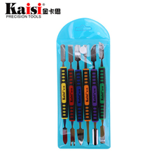 Buy Kaisi 6 IN 1 Dual Ends Metal Spudger Set Opening Repair Tool Kit Hand Tool Sets iPhone iPad Tablet Mobile Phone for $6.89 in AliExpress store