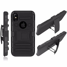 Shockproof case for iphone x luxury cover for apple i phone silicone coque iphonex 10 men rugged dustproof(China)